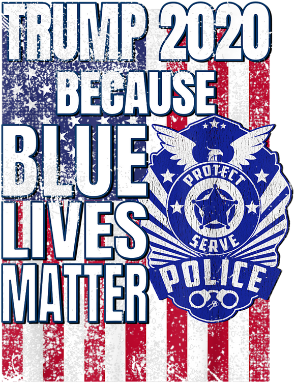 Trump Blue Lives Matter Tee
