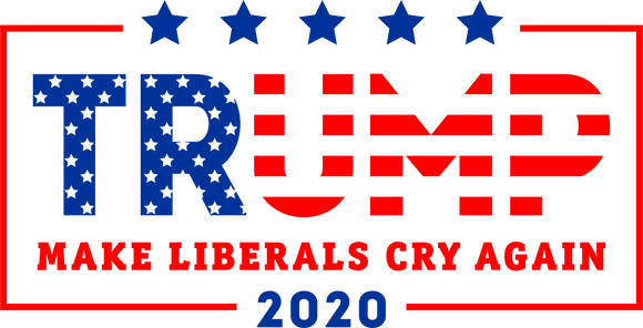 Trump Make Liberals Cry Flag Tee