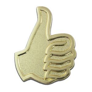 Thumbs Up Lapel Pin