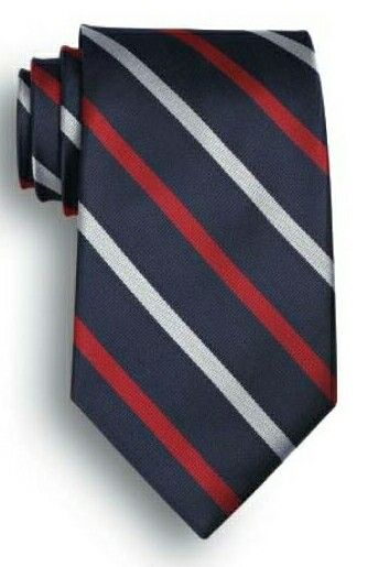 Polyester Tie America Signature Stripes