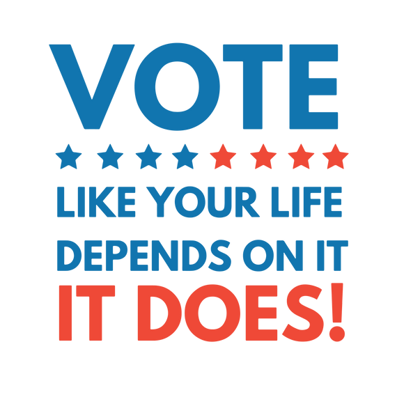 Vote Like Your Life Depends on it Tee