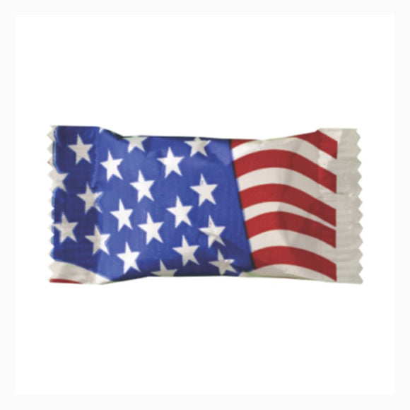 Parade and Event Candy in a Flag Wrapper