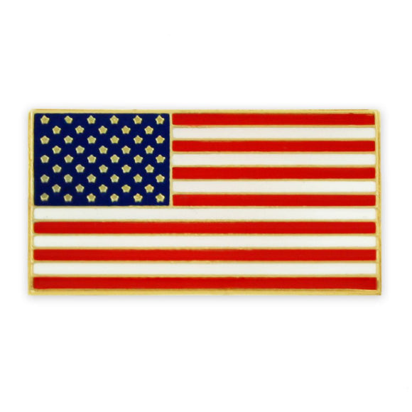 American Flag Pin w/ Magnetic Back