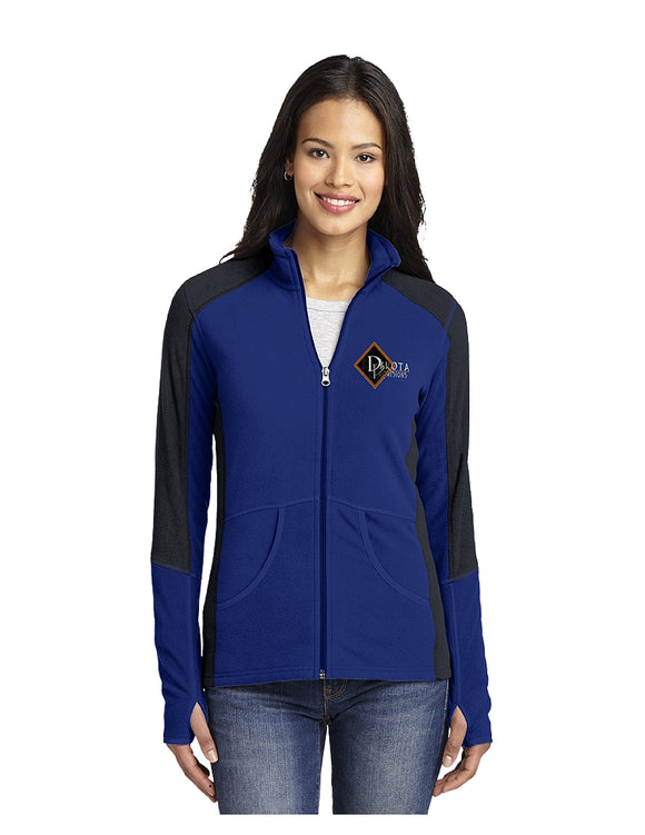 Port Authority Ladies Colorblock Microfleece Jacket (L230)