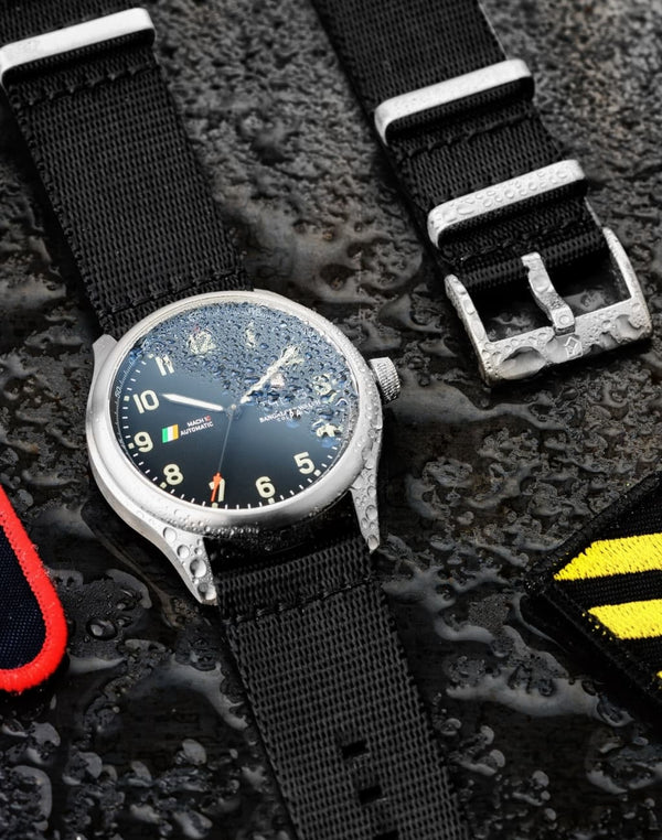 Farkhor Black Waterproof, Steel Buckle