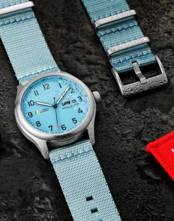 Nicobar Blue Waterproof, Steel Buckle