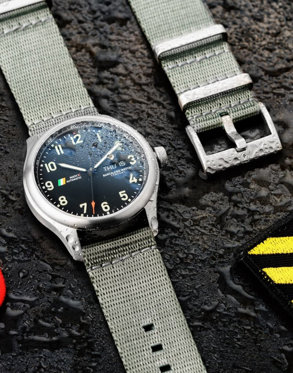 Siachen Grey Waterproof, Steel Buckle
