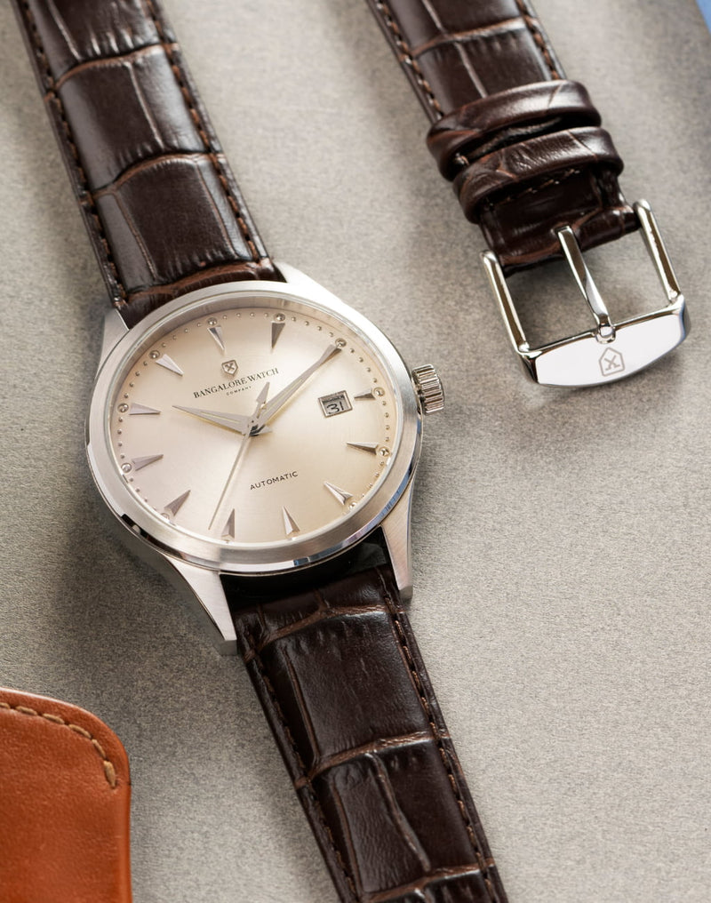 The Good Brown Strap, Steel Buckle