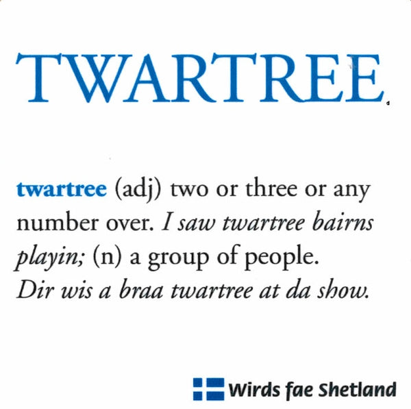 """Twartree"" Dialect Coaster"