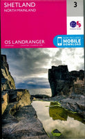 OS Landranger 3 - North Mainland