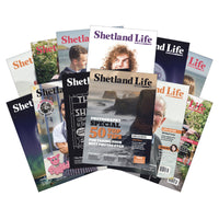 Twelve-Month Subscription to Shetland Life Magazine