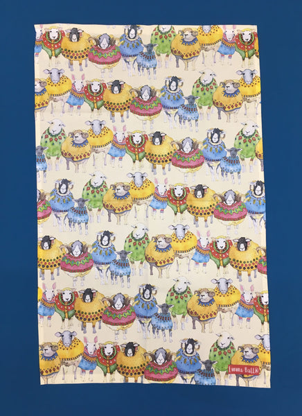 Sheep in Sweaters Tea Towel