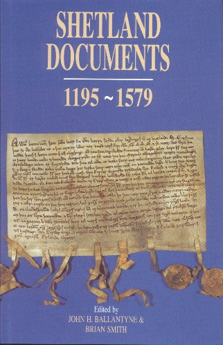 Shetland Documents 1195-1579