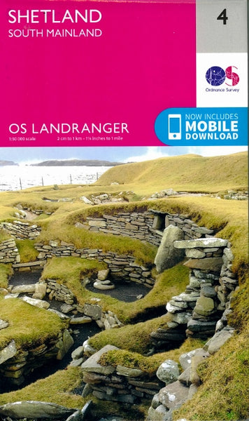 OS Landranger 4 - South Mainland
