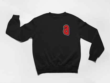 a is for Ambition - Embroidered A sweatshirt