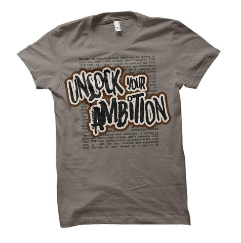 BHM Unlock Your Ambition tee