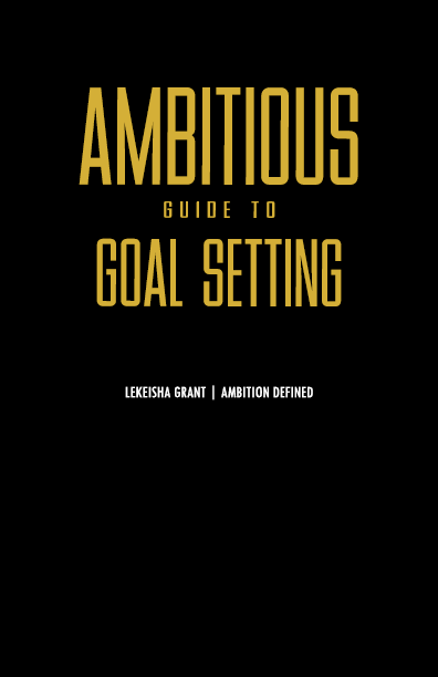 Ambitious Guide to Goal Setting ebook