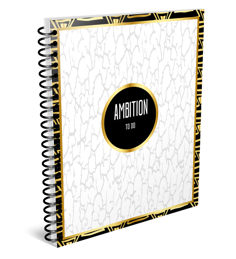 Ambition To Do notebook