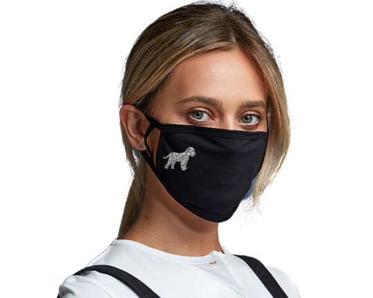 Cockapoo Face Mask, Face Covering