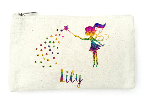Fairy Pencil Case, Personalised Pencil Case