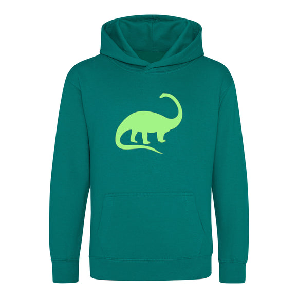 Glow in the Dark Dinosaur Kids Hoodie