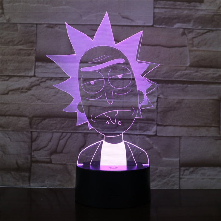 Lampe - Rick & Morty