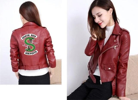 Veste en cuir South Side Serpents - Riverdales