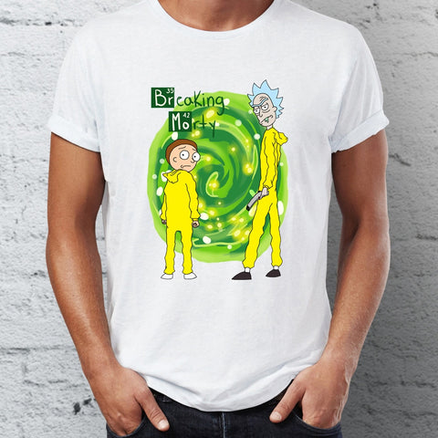 T-Shirt -  Rick and Morty/Breaking Bad