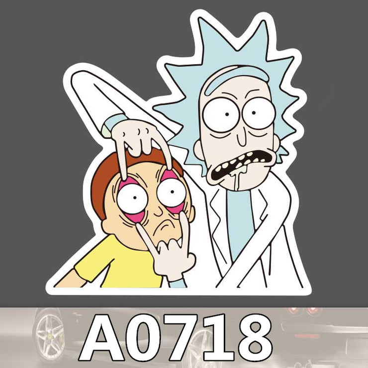 Sticker Rick et Morty
