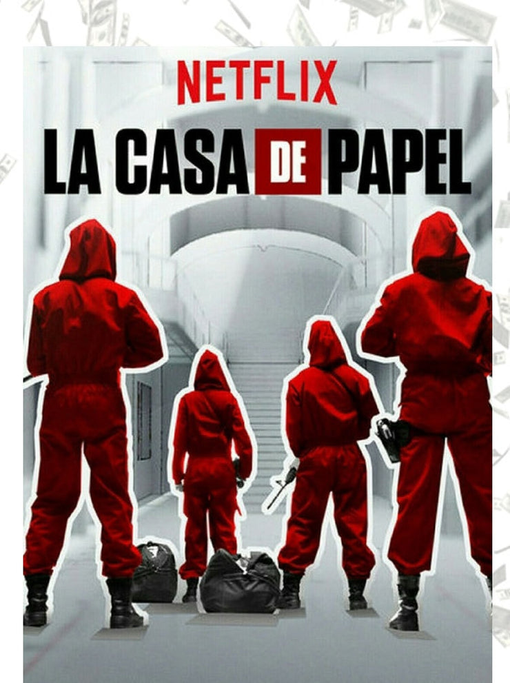 Costume + Masque - La Casa de Papel