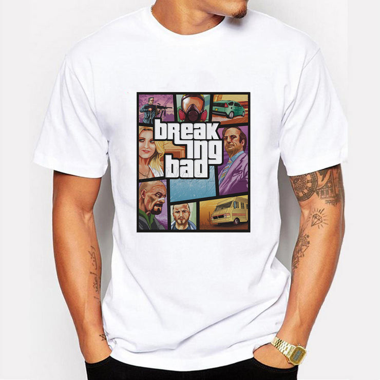 T-shirt Breaking Bad (GTA)