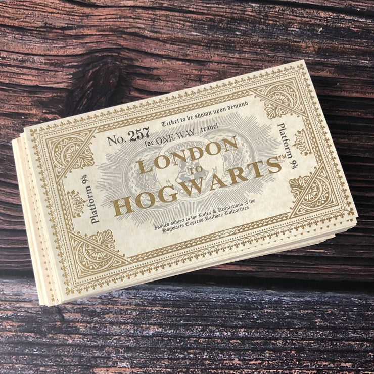 Ticket de Train Poudlard London Express - Harry Potter