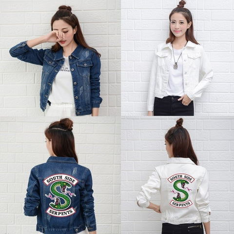Veste en Jeans South Side Serpents - Riverdale
