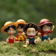 Lots de 4 Figurines One Piece