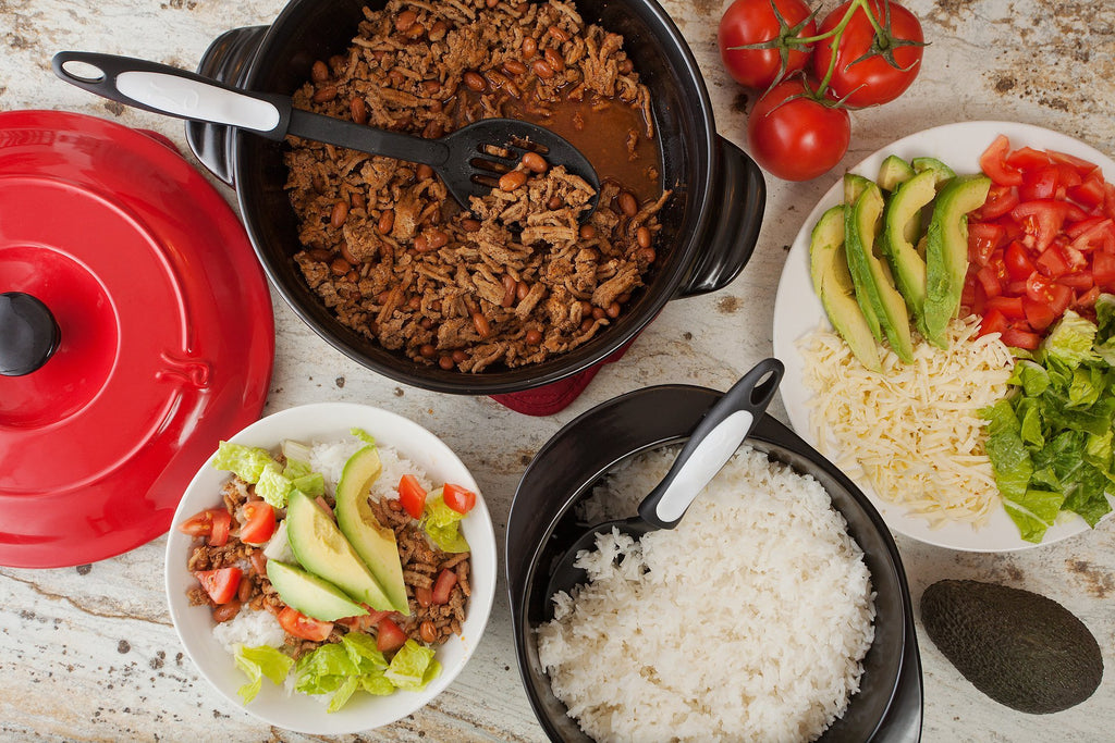 Turkey Burrito Bowls with Rice