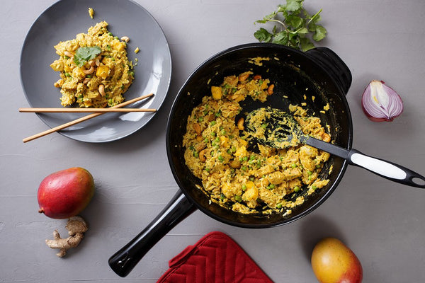 immunity boosting mango cashew curry with ginger