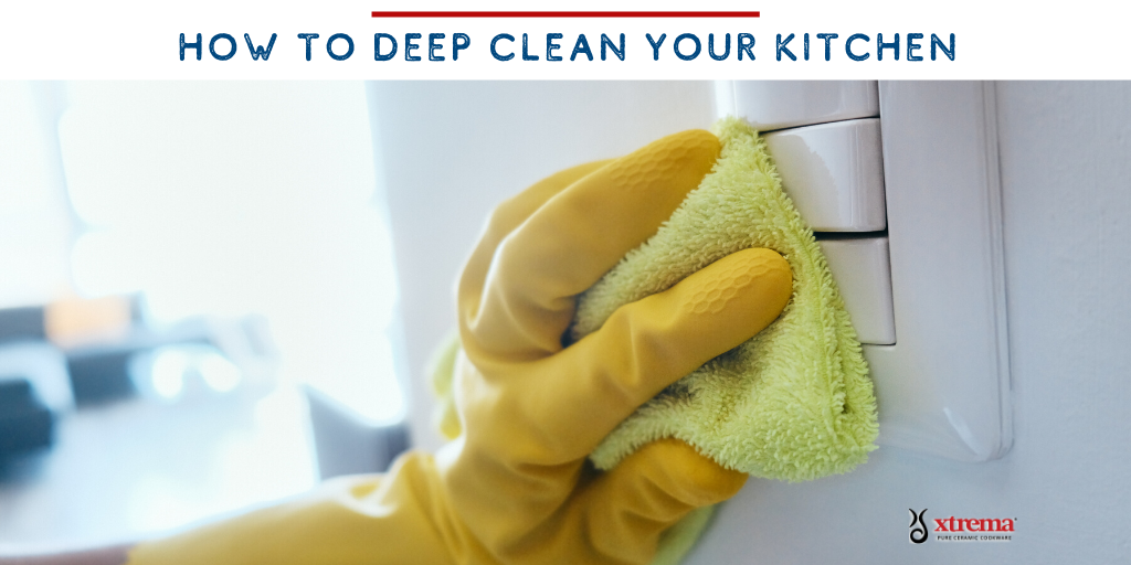 deep clean kitchen covoid