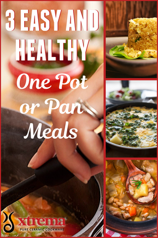 easy healthy one pot dinners