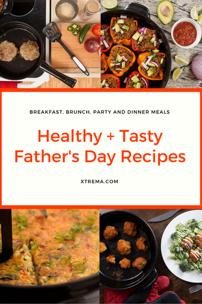 healthy and tasty Father's Day recipes