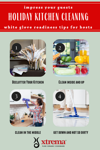 holiday cleaning tips to prepare for thanksgiving and christmas guests