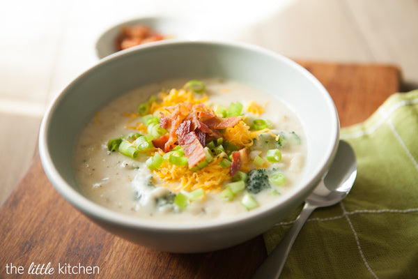 loaded baked potato winter soup recipe