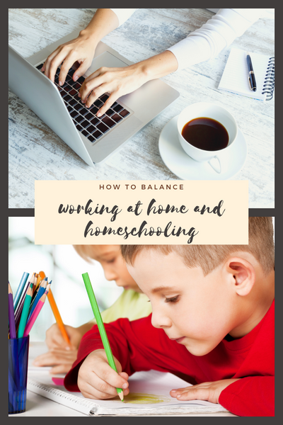 balancing working at home with homeschooling during COVID-19 Coronavirus pandemic