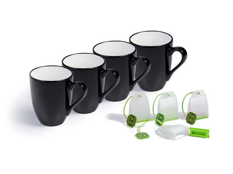 16-Ounce 4-Pack Mug Set