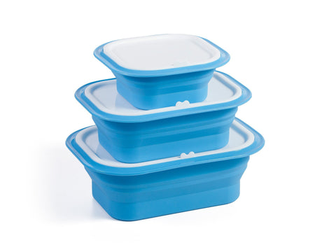 6-Piece Collapsible Food Storage Container Set