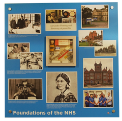 The Care Hiome Designer NHS reminiscence display artwork for dementia care homes