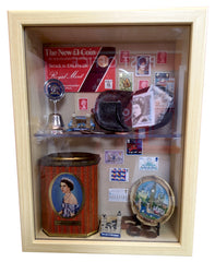 Post Office themed memory box POI for dementia care homes