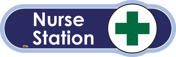 Nurse Office/Station Signs, Orientation aids, The Care Home Designer