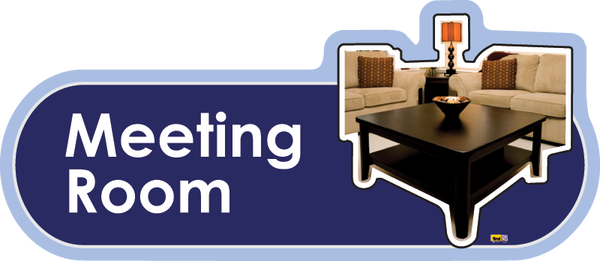 Meeting Room Signs, Orientation aids, The Care Home Designer