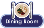 Dining Room Signs, Orientation aids, The Care Home Designer