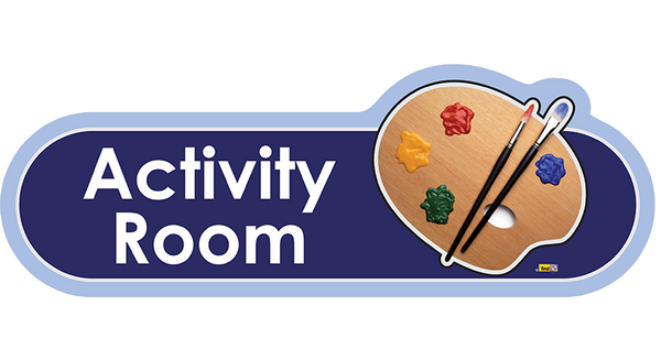 Activity Room Signs - The Care Home Designer